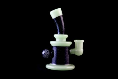 Daveman pipe at 42 Degrees Functional Art Glass Gallery in Glens Falls, NY