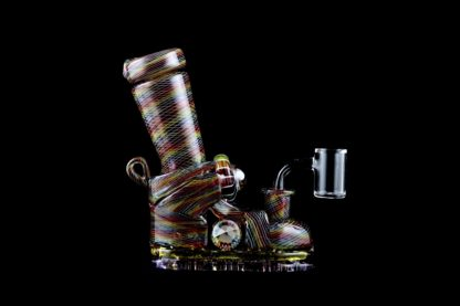 Karma pipe at 42 Degrees Functional Art Glass Gallery in Glens Falls, NY